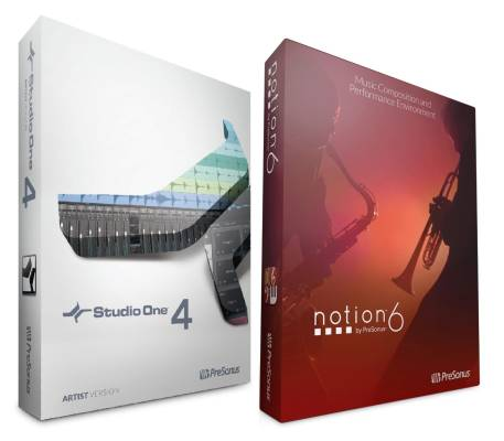 Studio One 4 Artist/Notion Bundle - Download