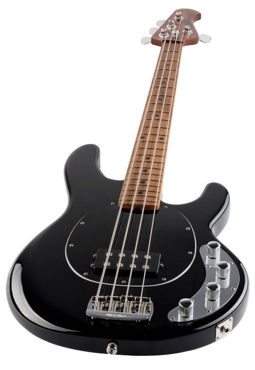 ernie ball music man stingray special 4 string bass w maple fingerboard black long. Black Bedroom Furniture Sets. Home Design Ideas