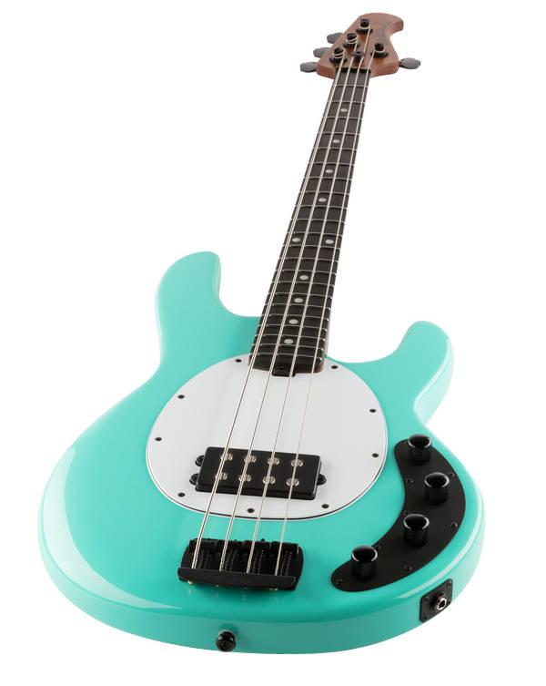 ernie ball music man stingray special 4 string bass w ebony fingerboard cruz teal long. Black Bedroom Furniture Sets. Home Design Ideas