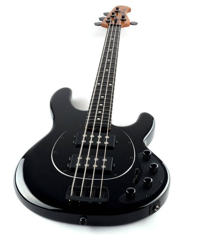 ernie ball music man stingray special hh 4 string bass w ebony fingerboard black long. Black Bedroom Furniture Sets. Home Design Ideas