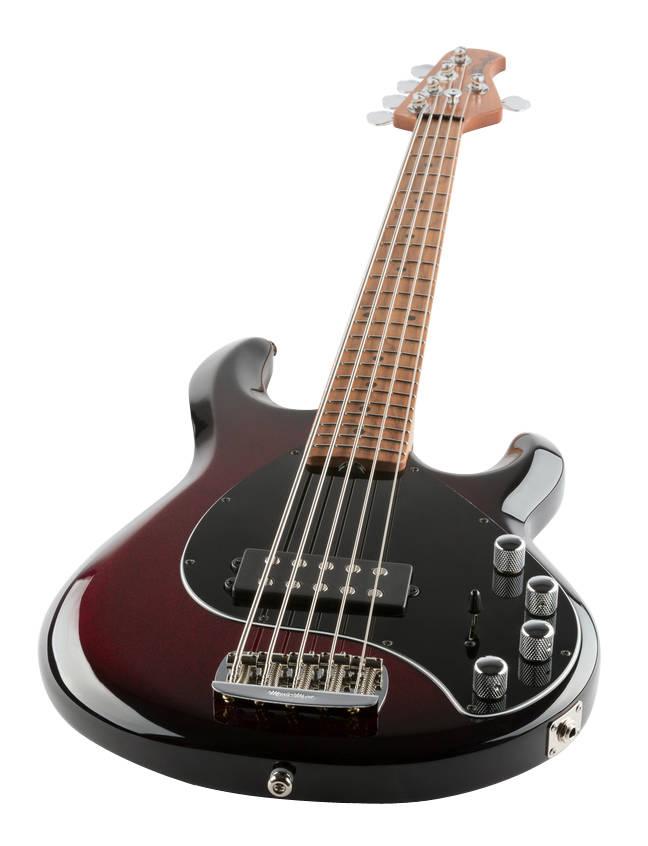 ernie ball music man stingray special 5 string bass w maple fingerboard burnt apple long. Black Bedroom Furniture Sets. Home Design Ideas