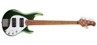 Ernie Ball Music Man - StingRay Special HH 5-String Bass w/ Maple Fingerboard - Charging Green