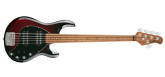 Ernie Ball Music Man - StingRay Special HH 5-String Bass w/ Maple Fingerboard - Burnt Apple