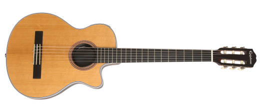 CEC Coupe Chambered Solid-Body Electric Classical - Natural