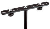 K & M Stands - Stereo Microphone Mounting Bar - Black