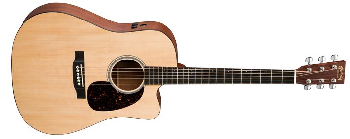 martin guitars dcpa4 cutaway acoustic electric guitar long mcquade musical instruments. Black Bedroom Furniture Sets. Home Design Ideas