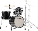 Sonor - AQ2 Safari 4-Piece Shell Pack (16,13,10,13SD) - Transparent Stain Black