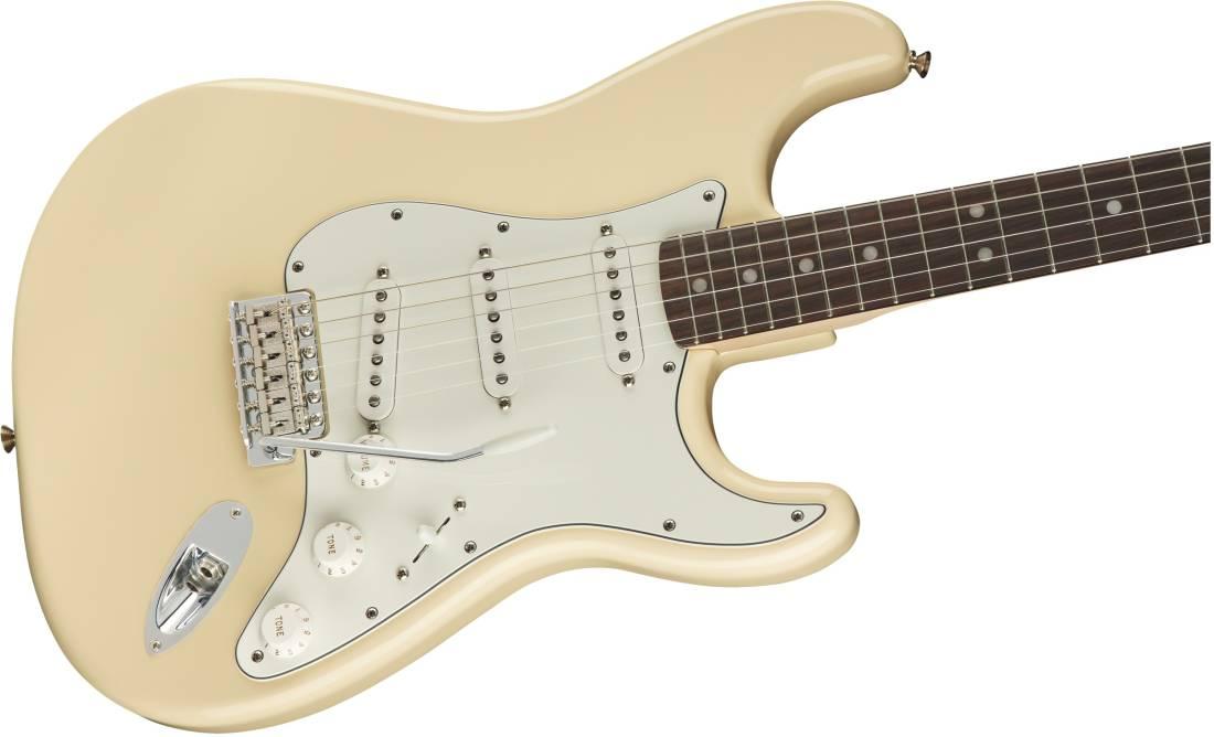 Albert Hammond Jr  Signature Stratocaster, Rosewood Fingerboard - Olympic  White