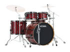 Tama - Superstar Hyper-Drive Maple 5-Piece Shell Pack (10,12,16,22,Snare) - Classic Cherry Wine