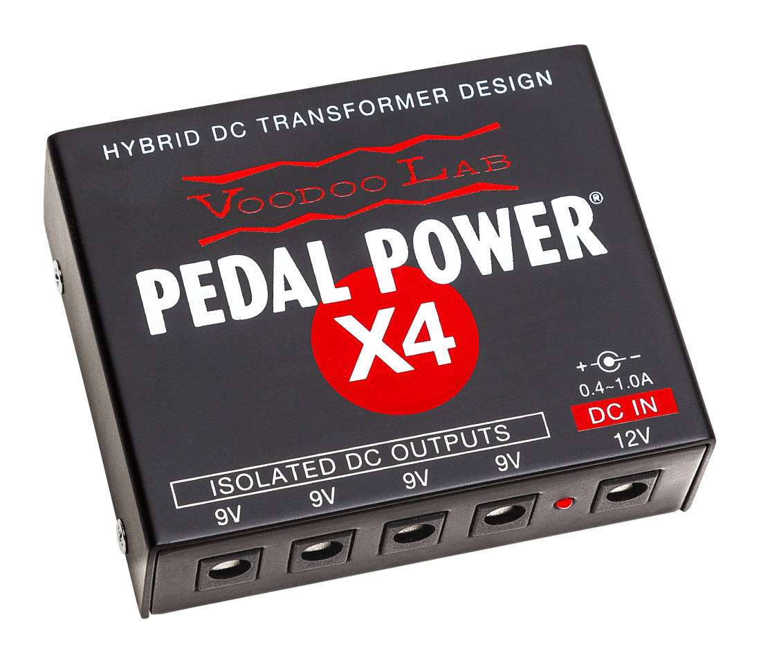 voodoo lab pedal power x4 isolated power supply long mcquade musical instruments. Black Bedroom Furniture Sets. Home Design Ideas