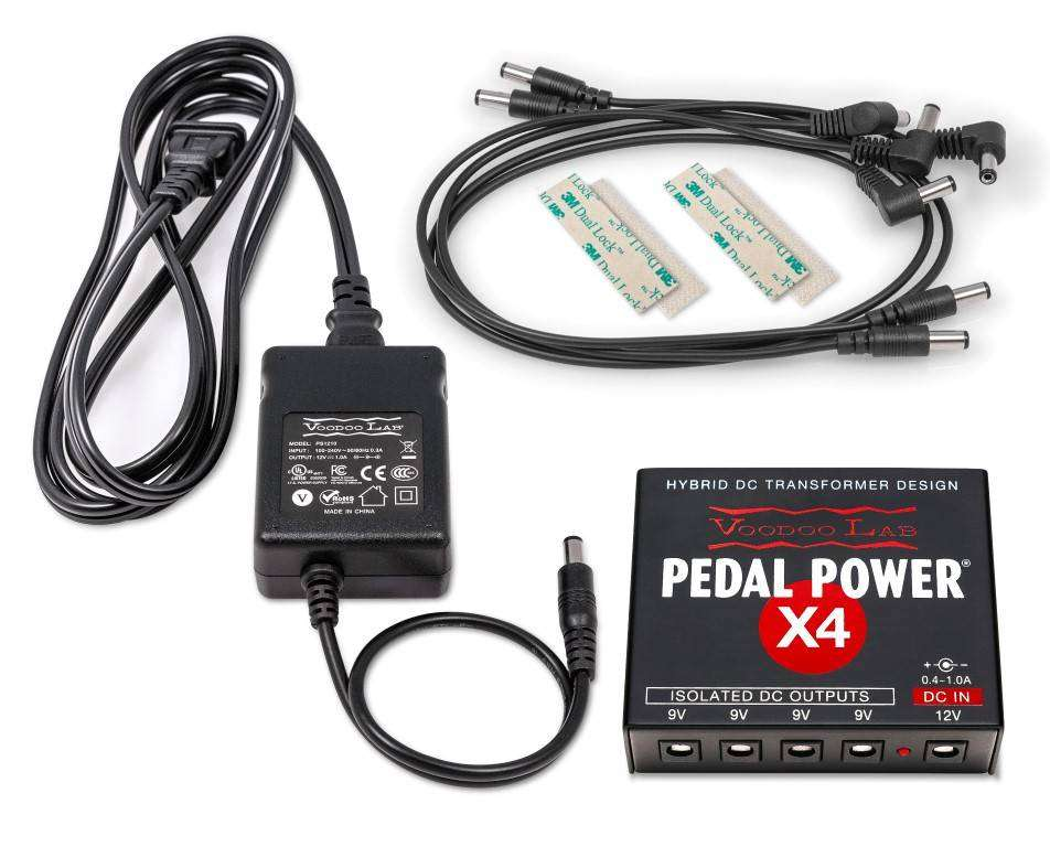Voodoo Lab Pedal Power X4 Isolated Power Supply Long