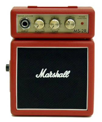 Micro Amp Half Stack - Red