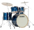 Tama - Silverstar 5-Piece Shell Pack (22,16,12,10, and Snare) - Indigo Sparkle