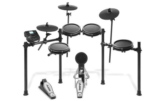 Nitro Mesh Kit - 8-Piece Electronic Drum Kit with Mesh Pads