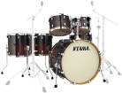 Tama - Silverstar 6-Piece Shell Pack (22,16,14,12,10,and Snare) - Dark Mocha Fade