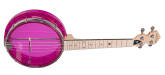 Gold Tone - Little Gem See-Through Banjo-Ukulele - Amethyst