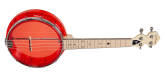 Gold Tone - Little Gem See-Through Banjo-Ukulele - Ruby