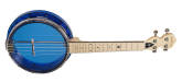 Gold Tone - Little Gem See-Through Banjo-Ukulele - Sapphire
