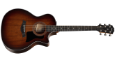 Taylor Guitars - 324ce Grand Auditorium Mahogany/Blackwood Cutaway Acoustic/Electric with V-Class Bracing