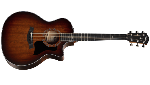 324ce Grand Auditorium Mahogany/Blackwood Cutaway Acoustic/Electric with V-Class Bracing