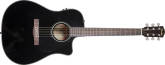 Fender - CD-60CE Acoustic/Electric - Black with Case