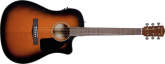Fender - CD-60CE Acoustic/Electric - Sunburst with Case