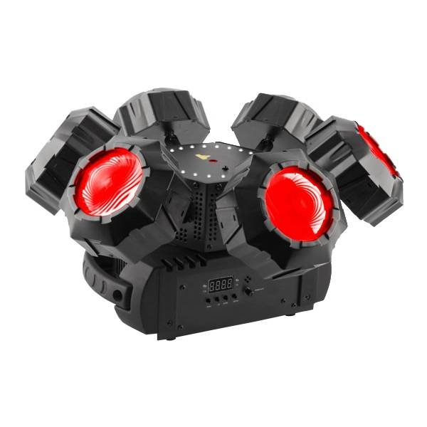 Helicopter Q6 Multi-Effects Light with Laser (RGBW)