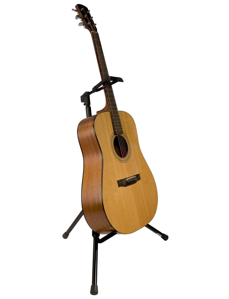 ultimate support gs 200 foldable guitar stand w locking legs long mcquade musical instruments. Black Bedroom Furniture Sets. Home Design Ideas
