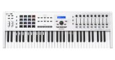 Arturia - KeyLab MKII 61 Professional Keyboard Controller and Software - White