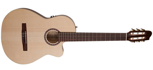 Arena CW QIT Thinline Acoustic/Electric Nylon String Guitar