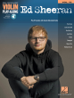 Hal Leonard - Ed Sheeran: Violin Play-Along Volume 75 - Book/Audio Online