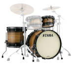 Tama - Starclassic Maple 3-Piece Shell Pack (20,12,14) - Natural Pacific Walnut Burst