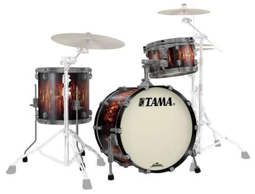 Starclassic Maple 3-Piece Shell Pack (20,12,14) - Molten Satin Brown Burst