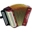 Erica Diatonic Accordion G/C