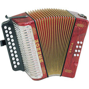 Erica Diatonic Accordion A/D