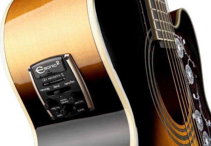 Acoustic Guitar Tuner Online >> Epiphone EJ-200 Super Jumbo Acoustic/Electric - Vintage Sunburst - Long & McQuade Musical ...
