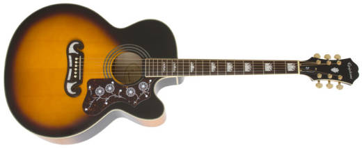 EJ-200 Super Jumbo Acoustic/Electric - Vintage Sunburst