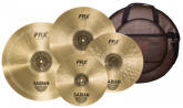 Sabian - FRX PrePack Set with 14 Hats, 16 & 18 Crash, 21 Ride, and Bag
