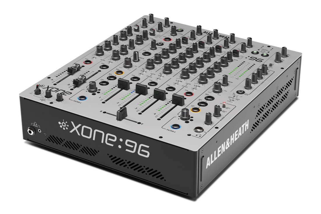 allen heath xone 96 6 2 channel analogue dj mixer w dual 32 bit usb soundcards long. Black Bedroom Furniture Sets. Home Design Ideas