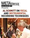 Hal Leonard - Al Schmitt on Vocal and Instrumental Recording Techniques (Metalliance Academy) - Book