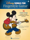 Hal Leonard - Disney Songs for Fingerstyle Guitar - Piburn - Guitar TAB - Book/Audio Online