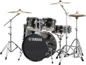 Yamaha - Rydeen 5-Pc Drum Set Complete w/Hardware, Cymbals and Throne - Black Glitter