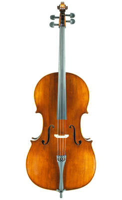 VC305 Carved Cello Outfit - 1/8