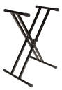 Ultimate Support - Double Braced Keyboard Stand - Black
