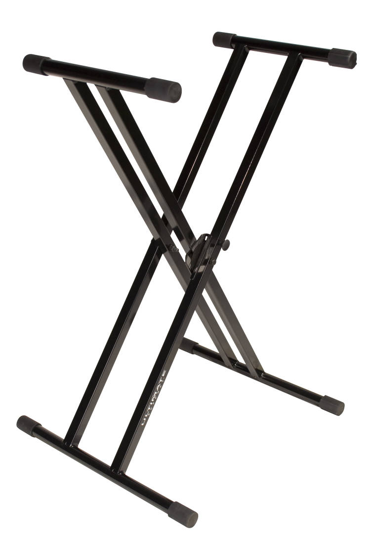 Ultimate Support Double Braced Keyboard Stand Black