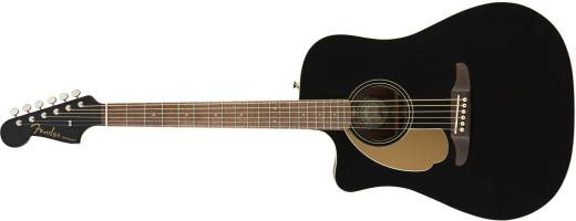 Redondo Player LH, Walnut Fingerboard, Jetty Black