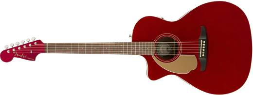 Newporter Player Left-Handed, Walnut Fingerboard - Candy Apple Red