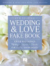 Hal Leonard - Wedding & Love Fake Book (6th Edition) - C Instruments  - Book