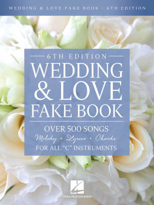 Wedding & Love Fake Book (6th Edition) - C Instruments  - Book