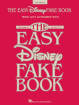 Hal Leonard - The Easy Disney Fake Book (2nd Edition) - Melody/Lyrics/Chords - Book